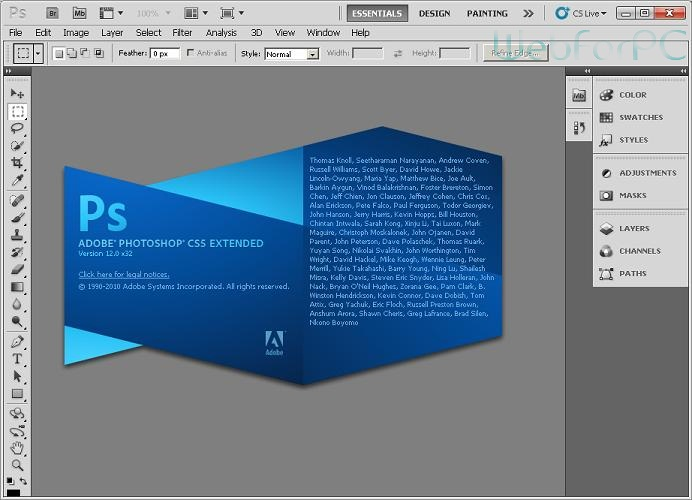 Adobe Photoshop CS Free