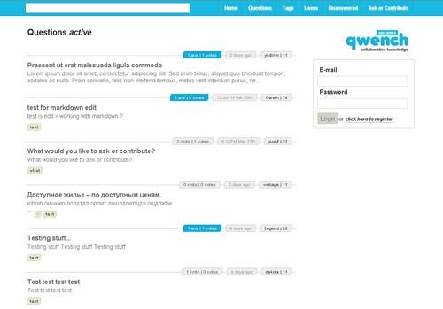 qwench free php qaa system